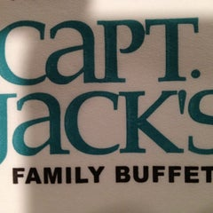 Photo taken at Capt Jacks Seafood Buffet by Brian S. M. on 9/5/2012