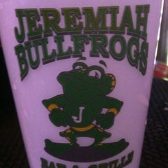 Photo taken at Jeremiah Bullfrogs Bar and Grille by Hilary C. on 5/15/2012