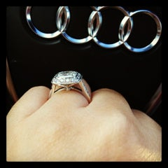 Photo taken at Tiffany & Co. by Tamie T. on 5/1/2012