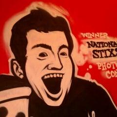 Photo taken at HotBox Pizza by Ashton E. on 1/31/2012