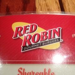 Photo taken at Red Robin Gourmet Burgers by Skittles AKA Scott P on 11/7/2011