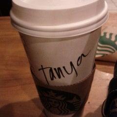 Photo taken at Starbucks by 🍤 Tanya F. on 1/29/2012