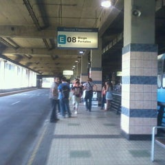 Photo taken at Estación Intermodal Bellavista de la Florida by Carlos Felipe R. on 1/31/2012
