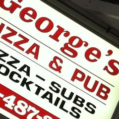 Photo taken at George's Pizza by Adam R. on 9/3/2011