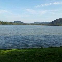 Photo taken at Hamerský rybník by Dita M. on 9/25/2011