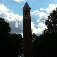 Photo taken at University of Alabama Quad by Jack G. on 10/13/2011