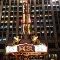 Photo taken at Fox Theatre by Jennifer C. on 1/19/2012