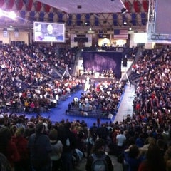 Photo taken at Vines Center by Kyle D. on 2/4/2011