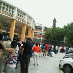 Photo taken at Facultad de Medicina UANL by Dulce S. on 7/1/2012