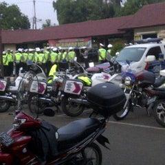 Photo taken at Lapangan Apel Mapolres Bogor by Eko F. on 6/3/2012