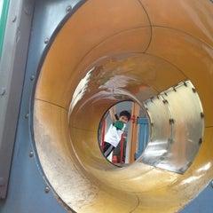 Photo taken at Playground by Pat B. on 8/7/2012