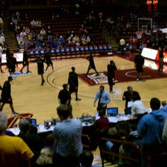 Photo taken at TD Arena, College of Charleston by Michael E. on 11/19/2011