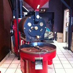 Photo taken at Valhalla Coffee Roasters by Christopher K. on 10/5/2011
