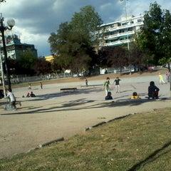 Photo taken at Parque Bustamante by Nina Paula M. on 11/20/2011