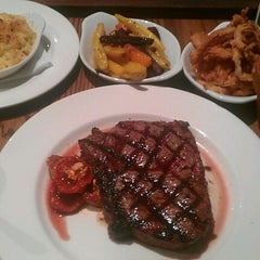 Photo taken at Butcher and Grill by Francis P. on 9/4/2012