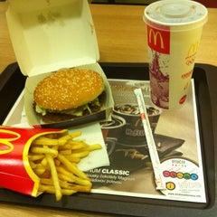 Photo taken at McDonald's by Tomáš V. on 9/1/2012