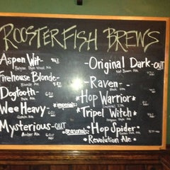 Photo taken at Rooster Fish Brewing by IConJohn on 8/24/2012