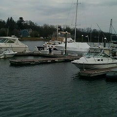 Photo taken at Cos Cob, CT by Jenni G. on 3/24/2012