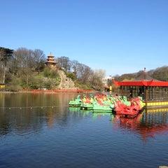 Photo taken at Peasholm Park by John M. on 3/28/2012