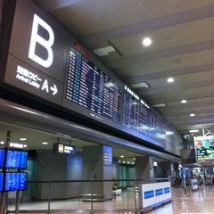 Photo taken at 成田国際空港 第2ターミナル (Narita International Airport - Terminal 2) by Tomoyuki N. on 2/8/2012