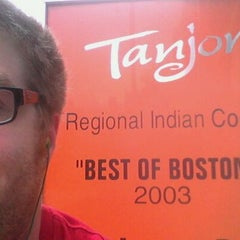 Photo taken at Tanjore Indian Restaurant by Ian G. on 9/29/2011