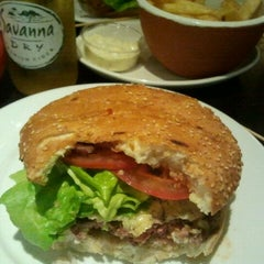 Photo taken at Gourmet Burger Kitchen by Peter T. on 11/9/2011
