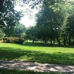 Photo taken at Sherwood Gardens by Michael S. on 7/7/2012