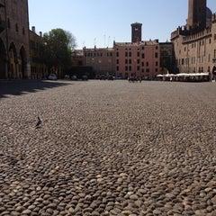 Photo taken at Piazza Sordello by Mirella G. on 3/28/2012