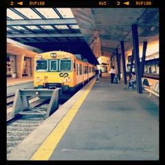 Photo taken at Estação Ferroviária de Porto-Campanhã by Joana E. on 8/29/2012