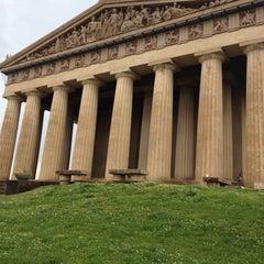 Photo taken at The Parthenon by Kristen S. on 5/19/2012