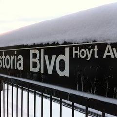 Photo taken at MTA Subway - Astoria Blvd/Hoyt Ave (N/Q) by Robert G. on 2/21/2011