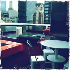 Photo taken at The Standard, Downtown LA by Korbin B. on 5/2/2012