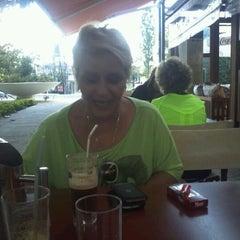 Photo taken at Platia Cafe by Αριστομενης Δημητρης Α. on 5/30/2012