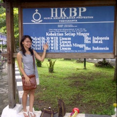Photo taken at HKBP Yogyakarta by Erba H. on 1/1/2012