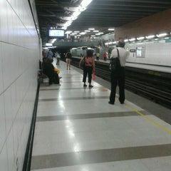 Photo taken at Metro Santa Isabel by ★ ManuDroid ★ on 3/22/2012