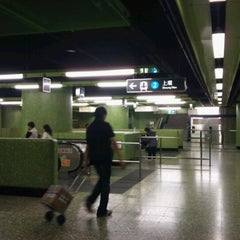 Photo taken at MTR Wan Chai Station 灣仔站 by Patrick S. on 3/26/2011