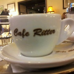 Photo taken at Café Ritter by Eaglepowder on 1/15/2012
