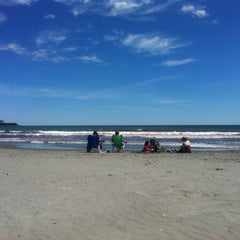 Photo taken at First Beach by Dante T. on 8/23/2011