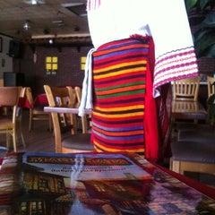 Photo taken at Magura Bulgarian Restaurant by Vladislav D. on 7/1/2012