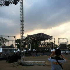 Photo taken at Lapangan Gasibu by ico jerico on 8/30/2012
