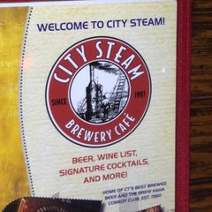 Photo taken at City Steam Brewery by Alex B. on 2/19/2012