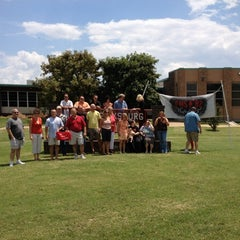Photo taken at Fredericksburg High School by Debbie on 7/14/2012