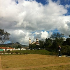 Photo taken at Terminal Rodoviário de Ouro Preto by Régis C. on 6/28/2012