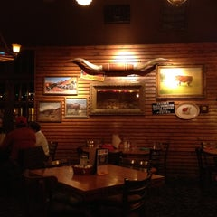 Photo taken at The State Line Bar-B-Q by Eduardo D. on 3/8/2012