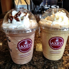 Photo taken at Saxbys Coffee by Alessandra P. on 5/29/2012
