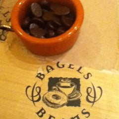 Photo taken at Bagels & Beans by Z B. on 6/16/2012