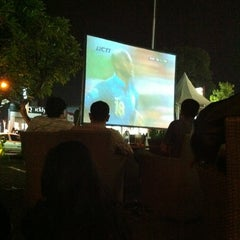 Photo taken at Barcode Outdoor Terrace & Pre-Club by Thitan Dimas Z. on 6/11/2012