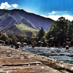 Photo taken at Glenwood Hot Springs by Colleen H. on 6/18/2012
