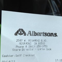 Photo taken at Albertsons by Brandon O. on 2/15/2012