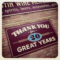 Photo taken at Austin Wine Merchant by Thankee W. on 3/10/2012